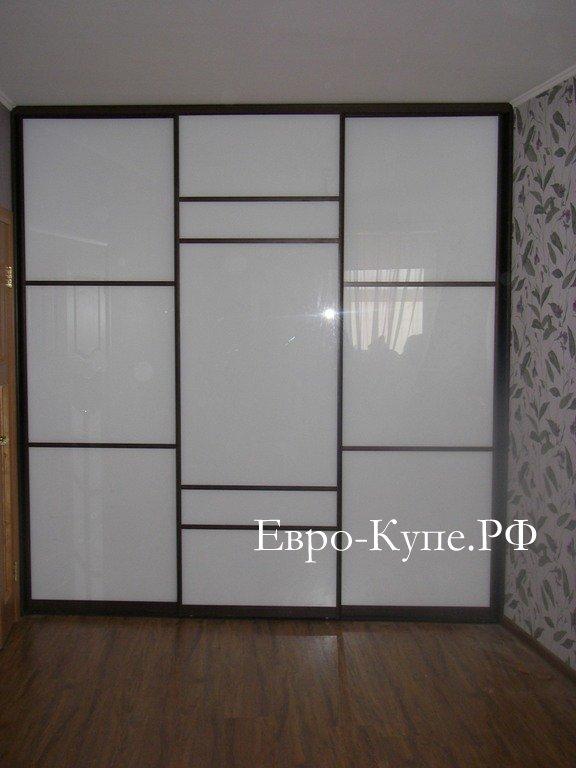 Шкаф купе крашеное стекло фото