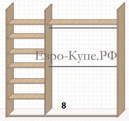 Мебель-Мастер.  Шкафы-купе на заказ в Иркутске, заполнение шкафов-купе.